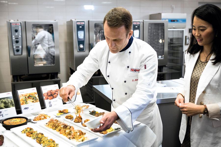 Multifunktionale Gargeräte Gastronomie RATIONAL Academy