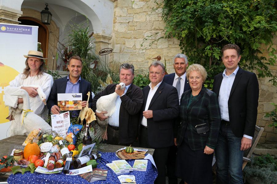 Wein und Gans im Burgenland
