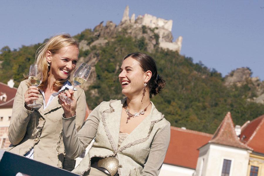 Niederösterreich Tourismus Rekord Weinstrasse