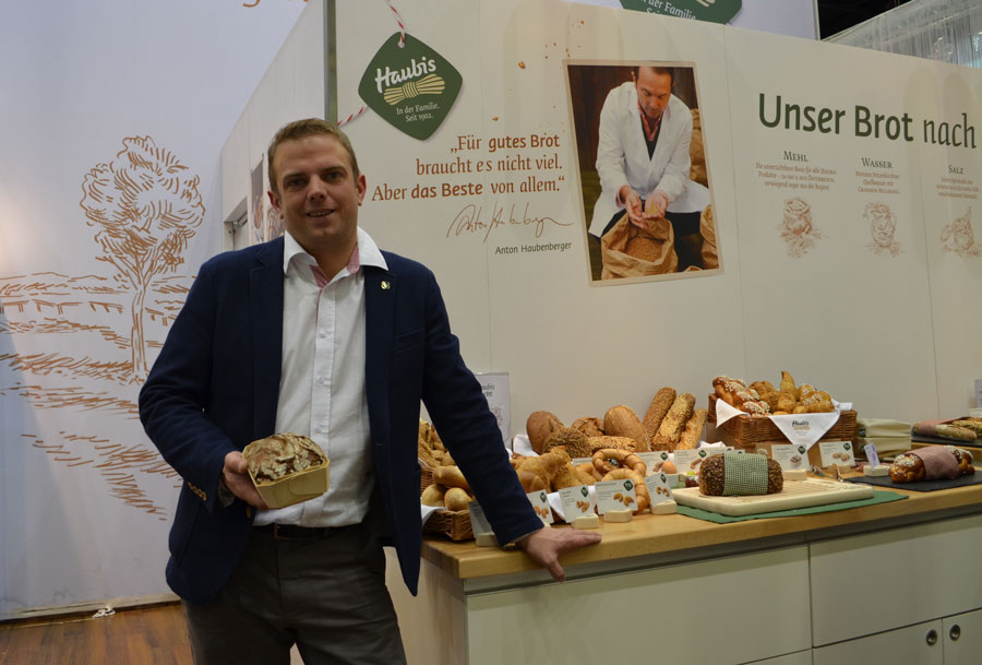 Gourmet Backwaren Haubis Gast Messe