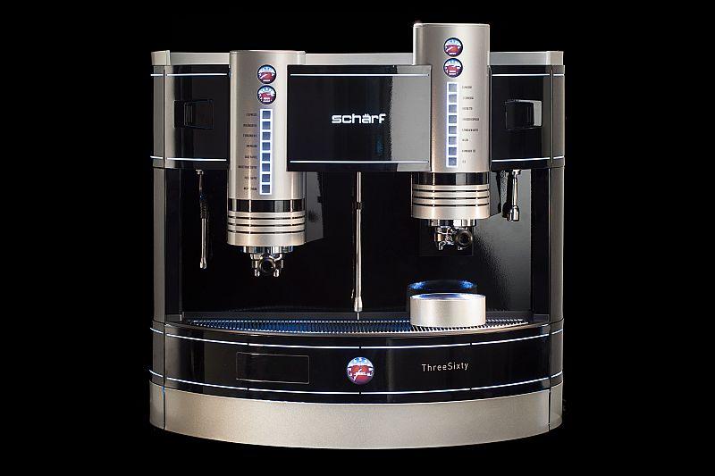 Espressomaschine Schärf Gast Messe ThreeSixty