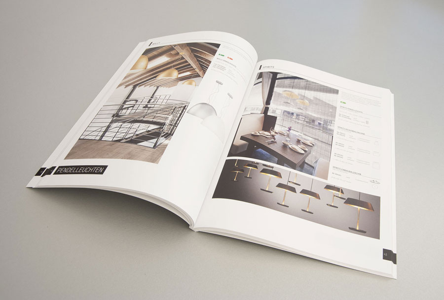 Hotelbeleuchtung von Molto Luce Katalogansicht