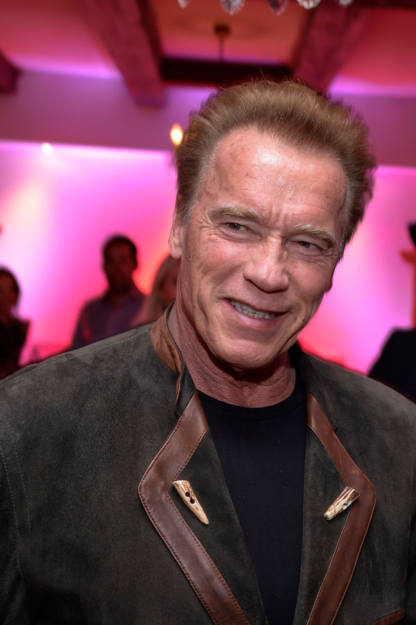 Hummer-Party in Kitzbühel Arnold Schwarzenegger Hotel Kitzhof