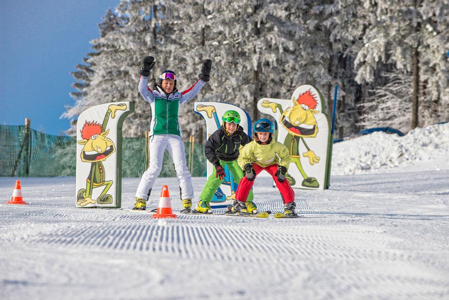 Spaß im Schnee für die Jüngsten
