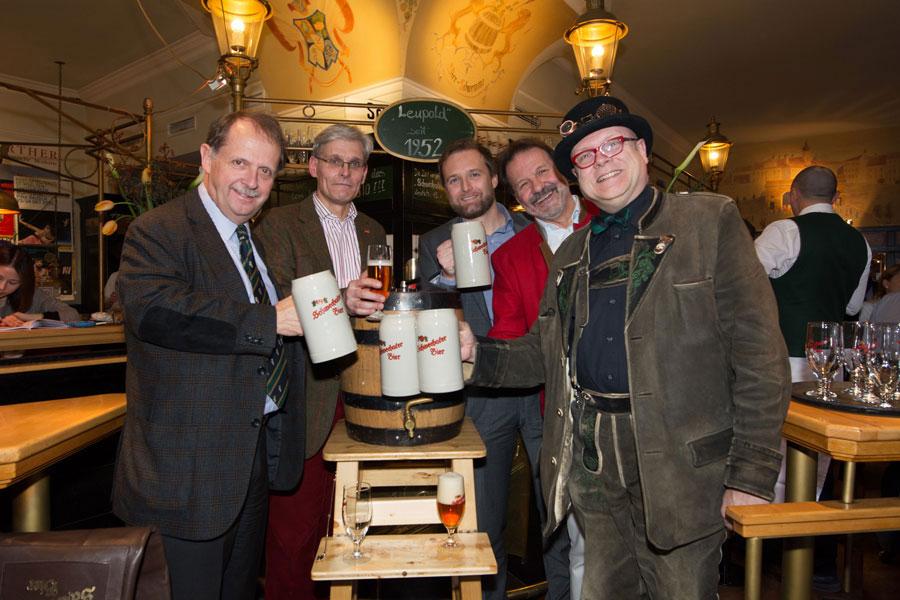 Schwechater Wiener Lager Verkostung
