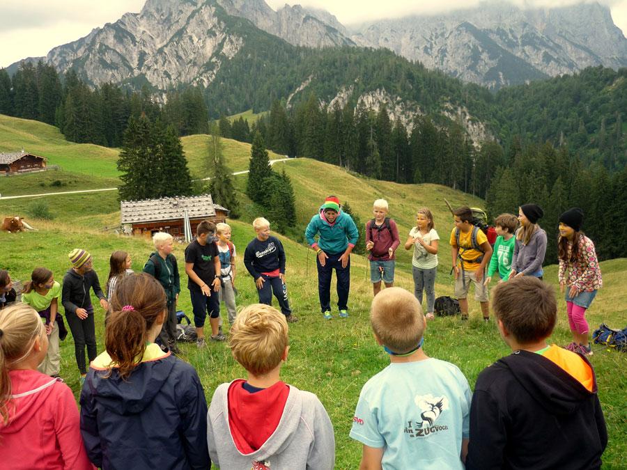 Sommerspaß für Kinder in den Alpen