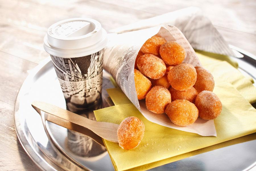 Abwechslung für Frühstücksbuffet Backwaren