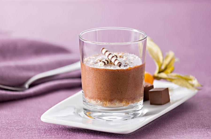 Speiseeis für Gastronomie Mini-Nougatcreme-Parfait