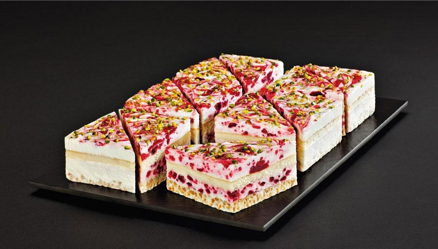 Speiseeis für Gastronomie Prachtstücke Cranberry-Buttermilch