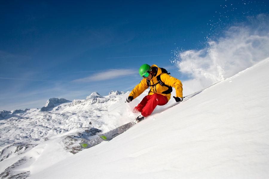 Wintersport im Salzkammergut