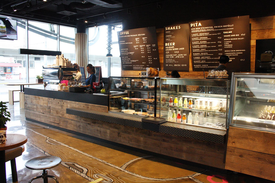 Dritter freiraum Coffeeshop hat eröffnet