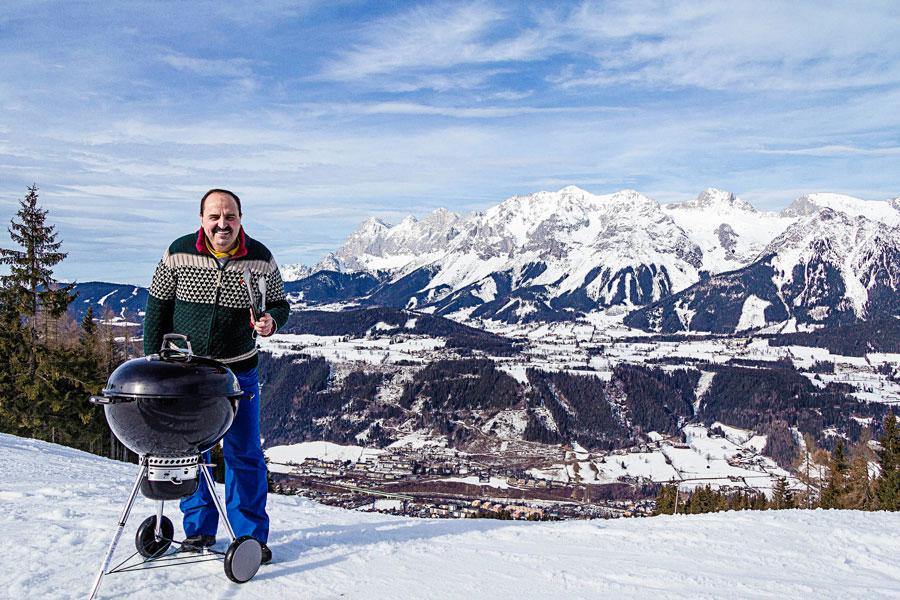 Größte Grillparty Österreichs Schladming Dachstein Johann Lafer