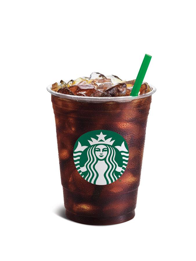 Kalte Kaffee Spezialität zu Frühlingsbeginn STARBUCKS Cold Brew