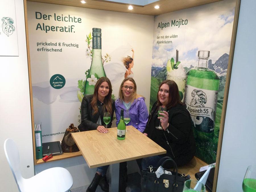 Alpenkräuter Getränke aus Österreich ALPSINTH