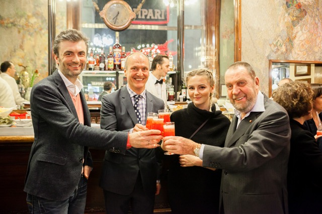 Bar Campari im Schwarzen Kameel Bar Campari Team