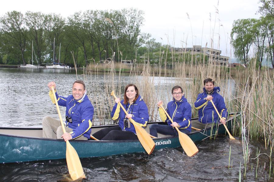 Pannonische Naturerlebnistage Kanu Baier Eisenkopf Stiegl