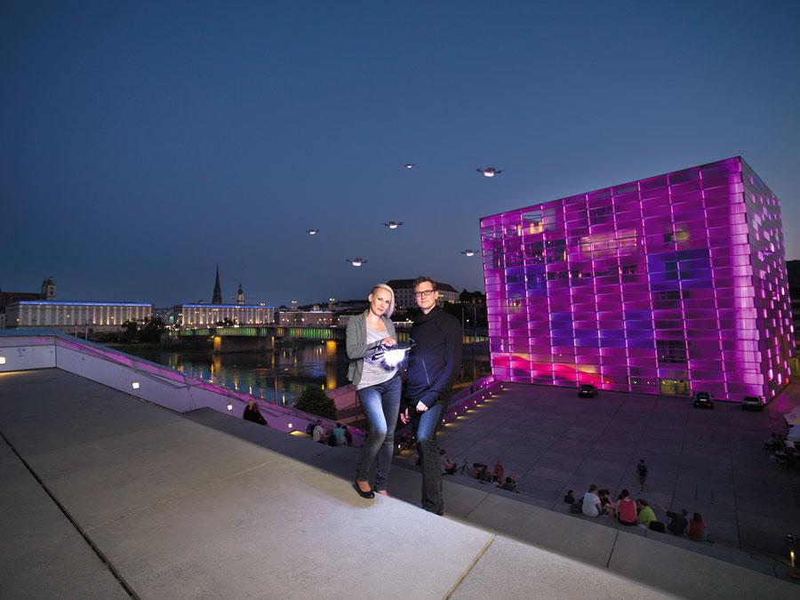 Kunststadt Linz real und virtuell entdecken Linz UNESCO City of MediaArts