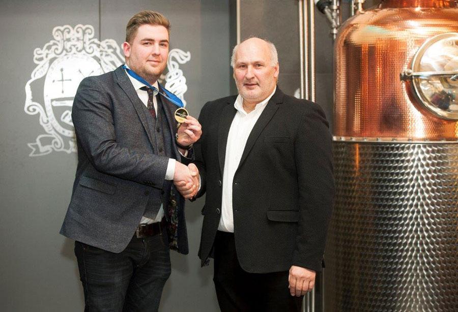 Destillerie Bauer Gold World Spirit Award