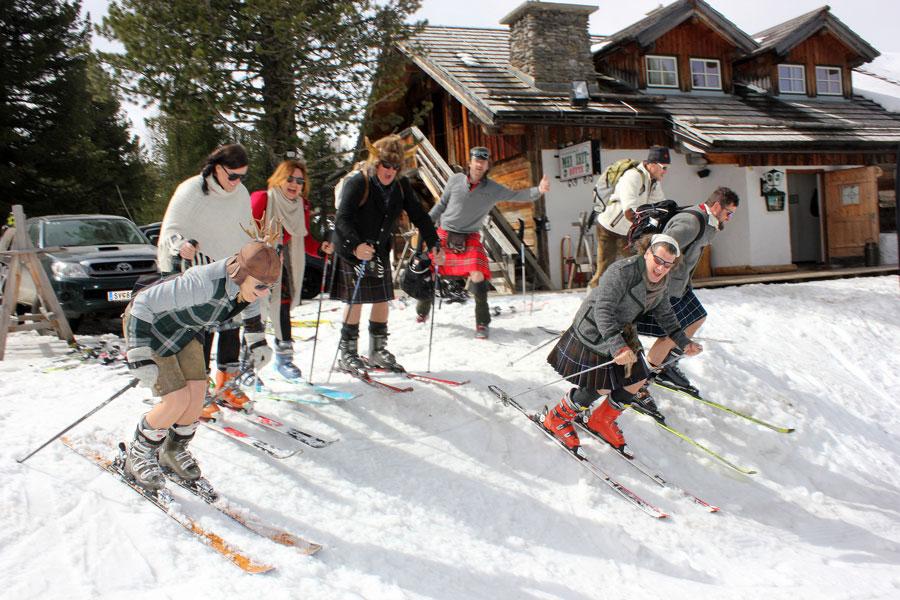 Resümee Kilt-Skitag Turracher Höhe