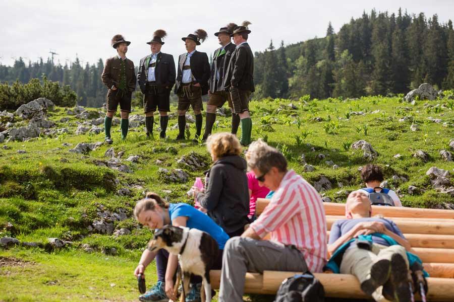 Auftakt in die Mostviertler Wandersaison Kiamöcha Gipfelklänge