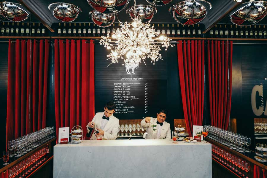 Bar Campari wird verlängert
