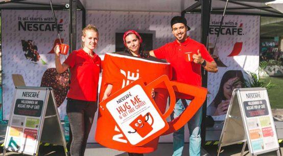 Nescafé Verkostung Wien Linz Graz