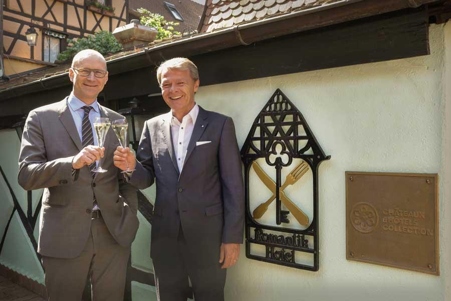 Romantik Hotels kooperieren mit Châteaux Hôtels Romantik-Vorstandsvorsitzende Thomas_Edelkamp