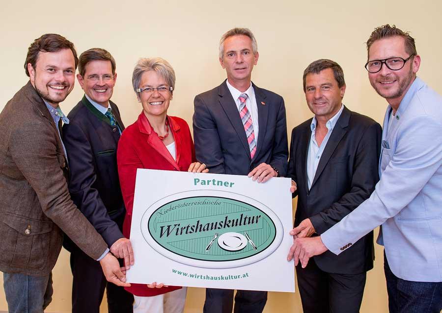 Neue Partner für Wirtshauskultur NLK Filzwieser