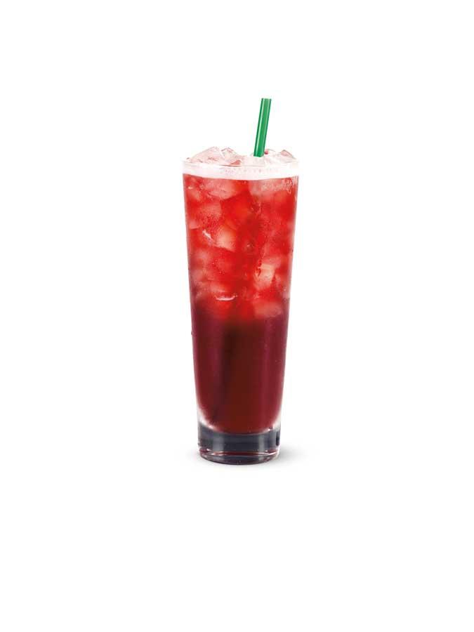 Neue Eisteesorten Starbucks Hibiscus Iced Tea