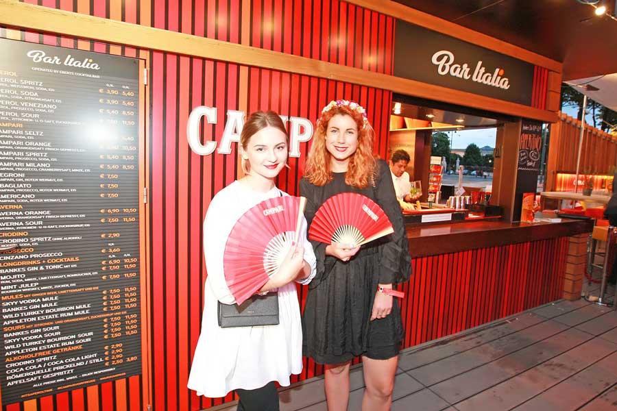 Bar Italia Wiener Rathausplatz eröffnet Laura Karasinski Cecilia Leitinger