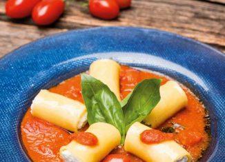 Rezept für Paccheri mit Ricotta