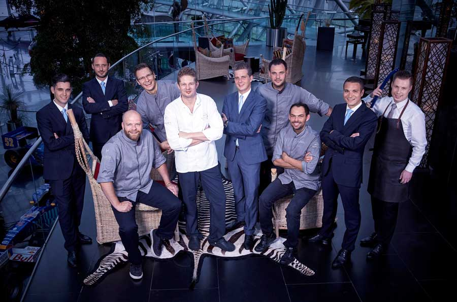 Martin Klein und Ikarus-Team kochen im August