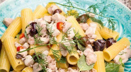 Rezept für Rigatoni mit Thunfisch