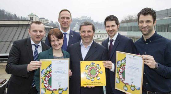 Umweltzeichen für Salzburger Imlauer-Hotels