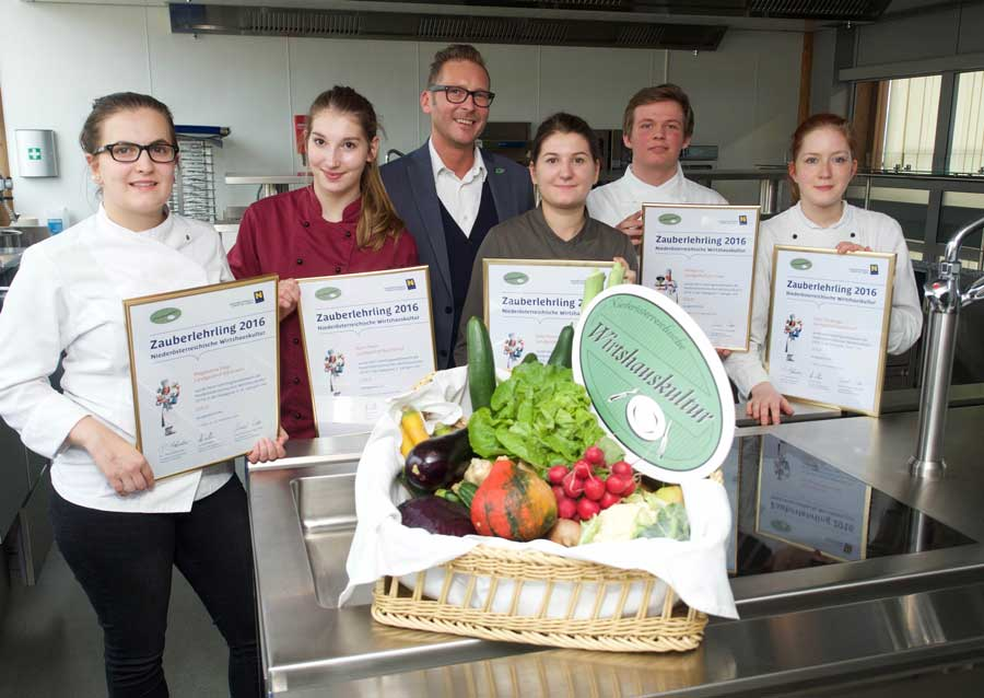 Lehrlingswettbewerb Niederösterreich Wirtshauskultur Zauberlehrlinge