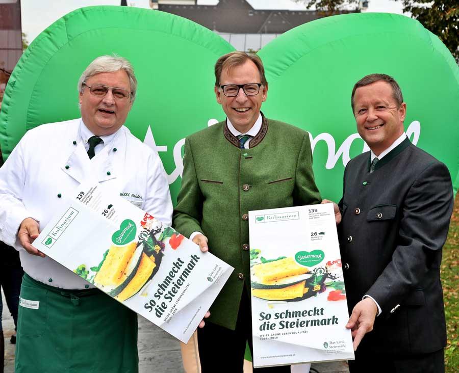 Zehn Jahre Kulinarium Steiermark Auszeichnungen