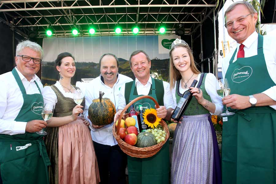 Steirisch Herbst'ln in Linz eröffnet Steiermark Tourismus