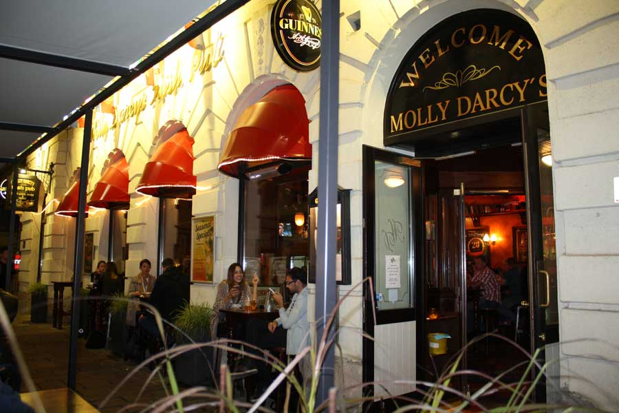 Molly Darcys Irish Pub feiert 20 Jahre Jubiläum