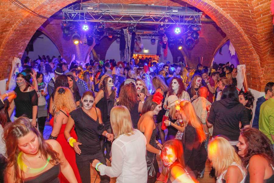 Halloween-Party in Salzburg Stiegl-Brauwelt