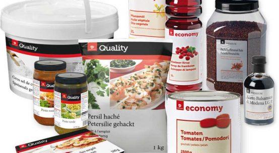 Neue Eigenmarken für Gastronomie Transgourmet