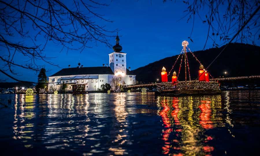 Advent im Salzkammergut Attraktionen Traunsee Schlösser Advent