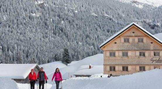 Kulinarisches Winterwandern in Vorarlberg