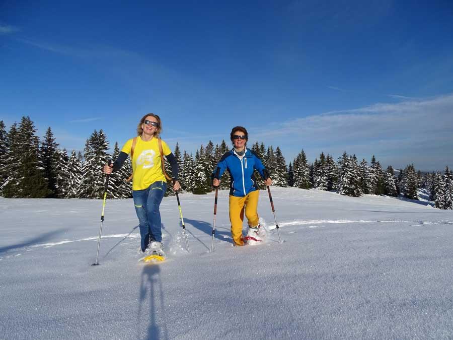 Schneeschuhwandern Steiermark Tipps