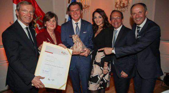 Auszeichnung für Präsidenten der Rezidor Hotel Group