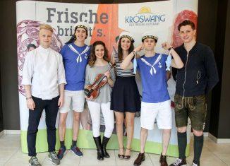 Tourismusschüler als Gastronomie-Profis Gastrocontest