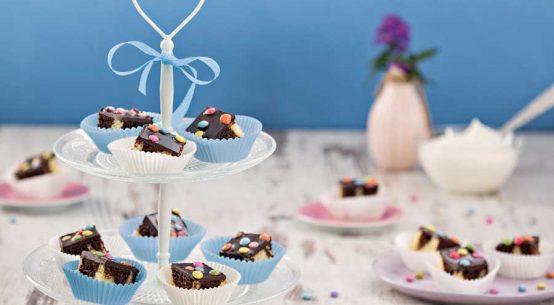 Smarties-Kuchen für die Gastronomie