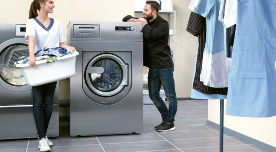 Stromsparende Waschmaschinen Gastronomie
