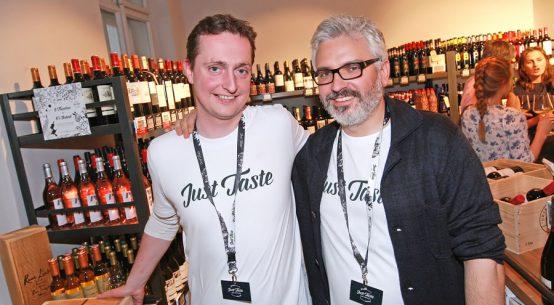 Neue Weinshop-Bar Just Taste eröffnet