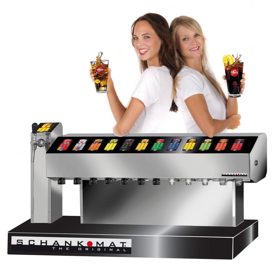 Computer Schanksystem für die Gastronomie Grapos