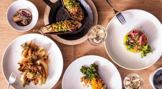 Vegetarisches Menü zum Teilen Tian Bistro